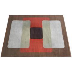 Large 1970 Woolen Carpet