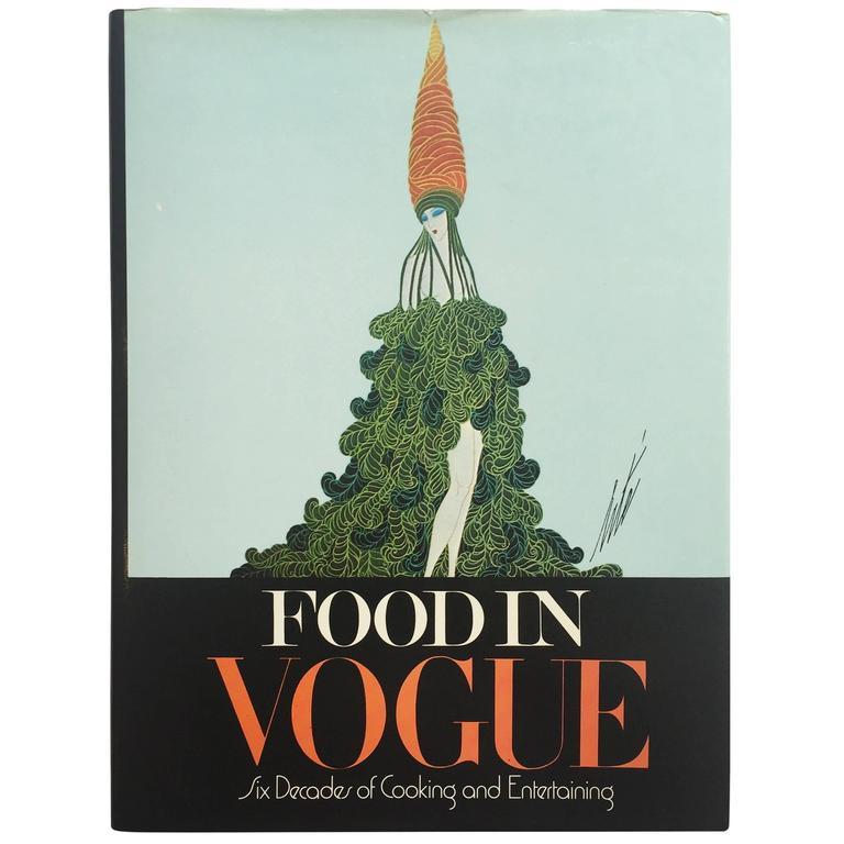 """""""Food in Vogue - Six Decades of Cooking and Entertaining"""" Book"""