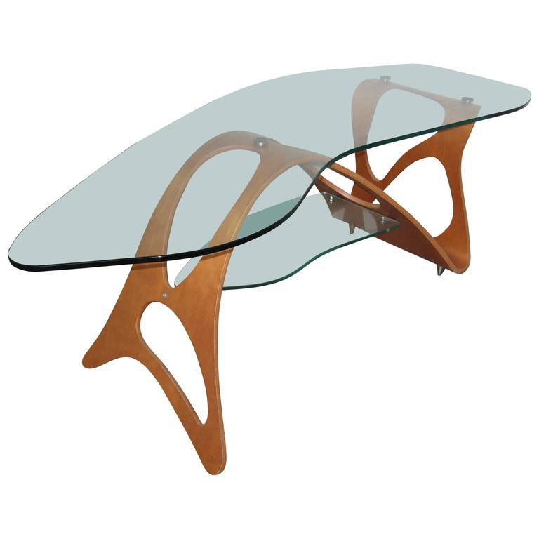 Carlo Mollino Coffee Table Zanotte For