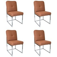 Milo Baughman for Thayer Coggin Dining Chairs Set of 4