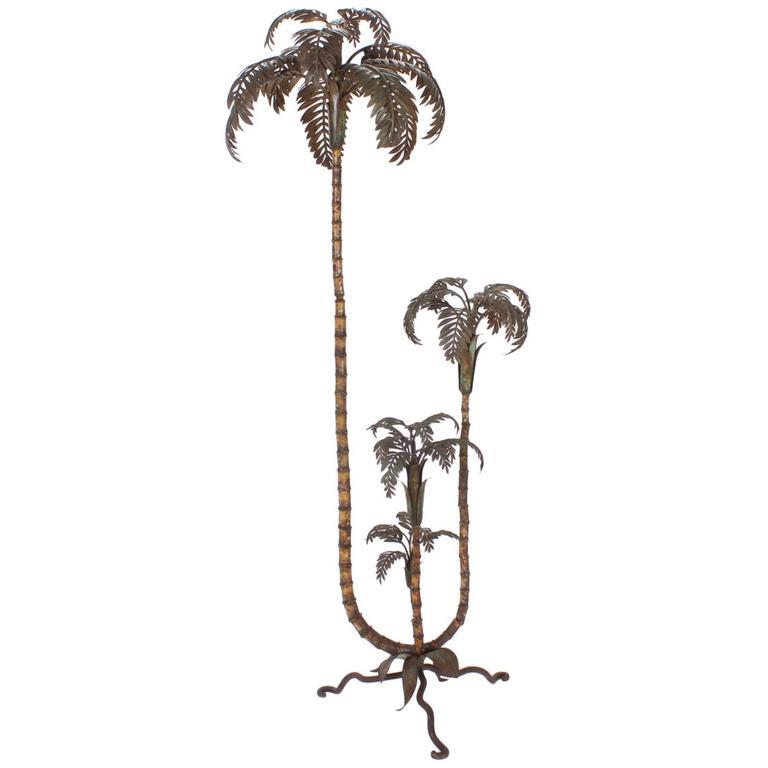Italian Tole Palm Tree