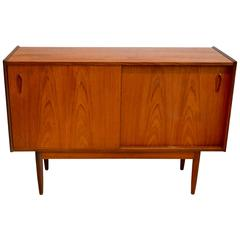 Teak and Rosewood Sideboard or Credenza by Peter Hvidt, Danish, 1960s