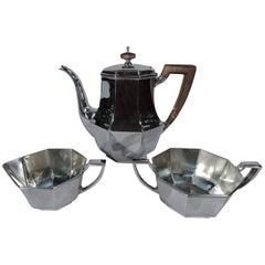 Tiffany Art Deco Sterling Silver Tea Set