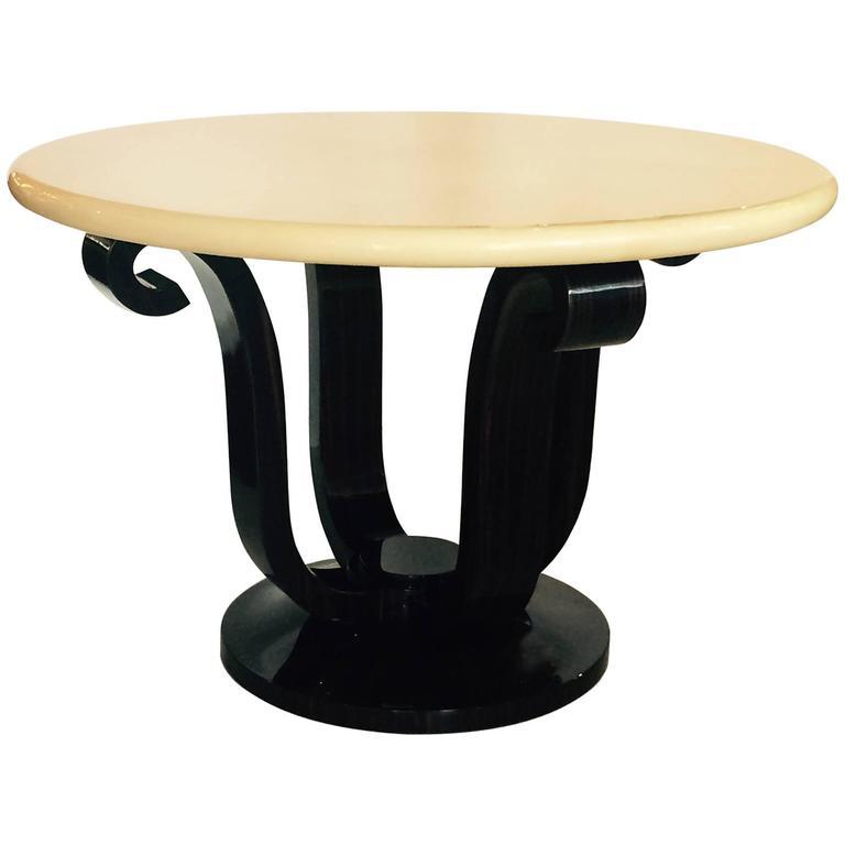 Foyer Center Table : Enrique garcel custom made foyer center table for sale at