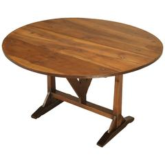 vintage round oak dining table for sale at 1stdibs
