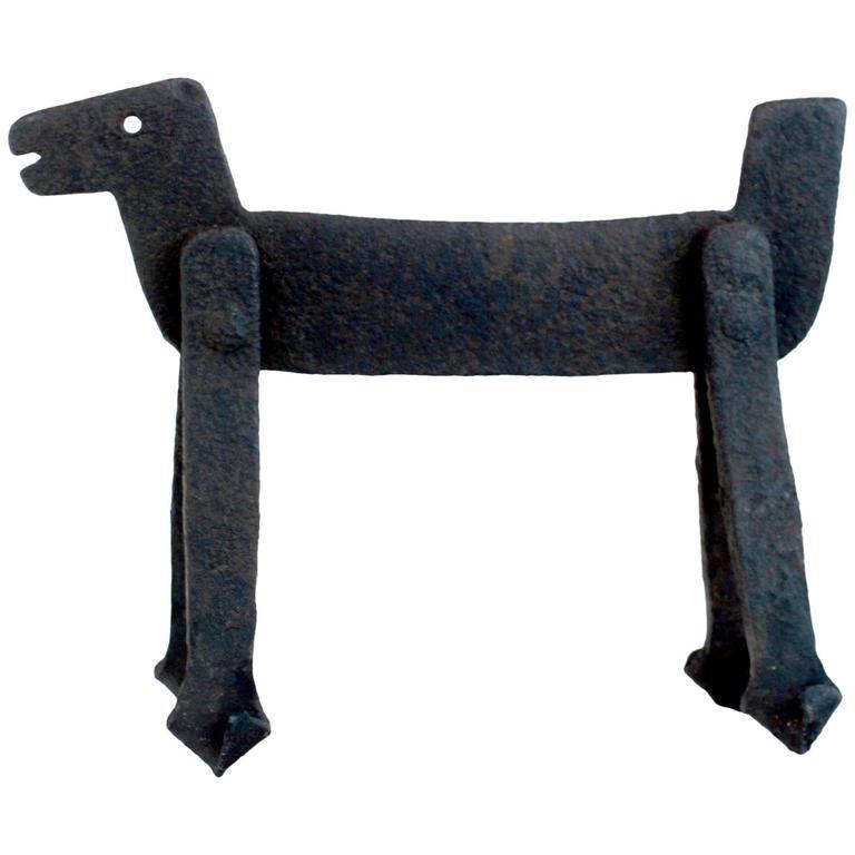 Wrought Iron Dog Boot Scraper at 1stdibs : 5458723l from www.1stdibs.com size 768 x 768 jpeg 33kB