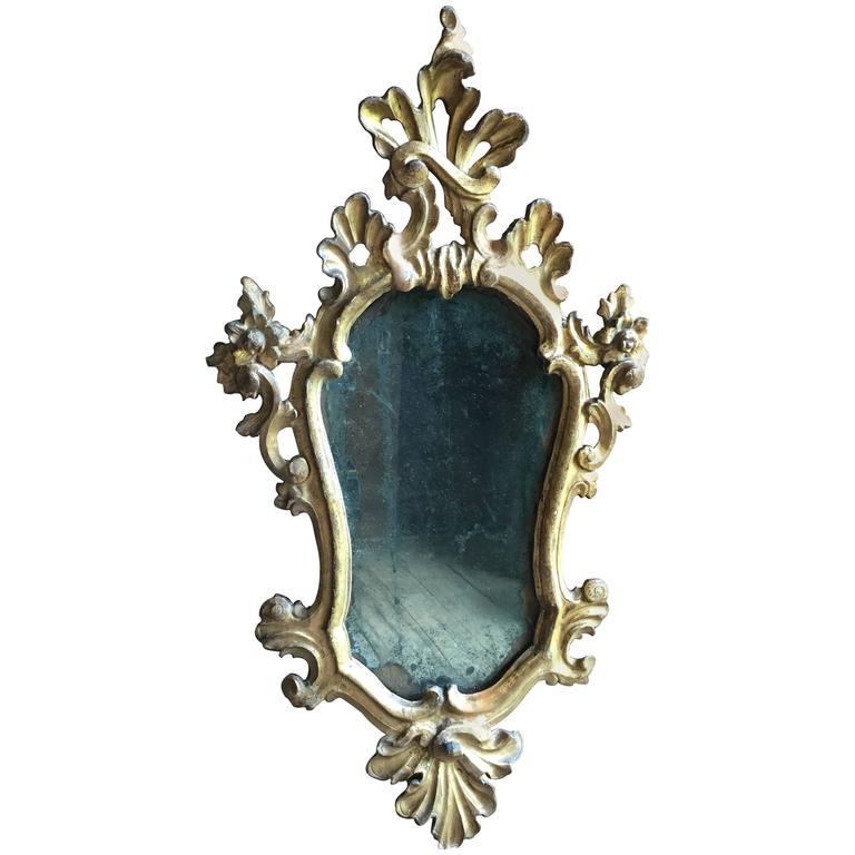 Italian baroque giltwood mirror circa 1740 for sale at for Italian baroque mirror