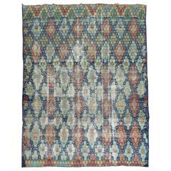 Shabby Chic Vintage Anatolian Deco Style Carpet
