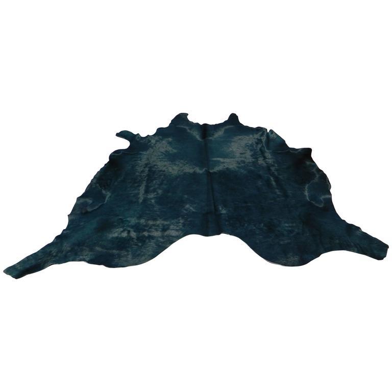 Black Cowhide Rug