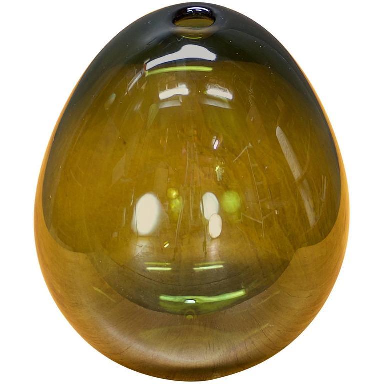1950s Kaj Franck Soap Bubble Glass Orb Nuutajarvi Notsjo Finland