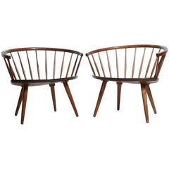 Yngve Ekström Lounge Chairs