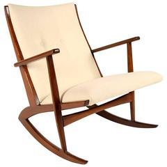 Boomerang Rocking Chair by Søren Georg Jensen for Kubus, 1960s