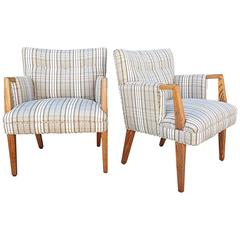 Pair of Modernist Armchairs