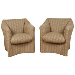 Pair of Cassina Lounge Chairs