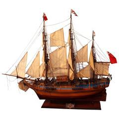 Model Ship of the HMS Bounty Mid-20th Century