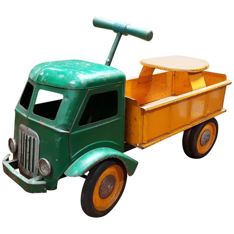 Keystone Ride-On Pressed Steel Toy Truck