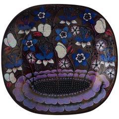 Vintage Ceramic Birger Kaipiainen Platter