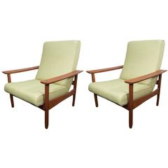 Pair of Steiner Armchairs