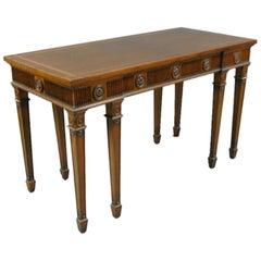 English George III Mahogany Console Table