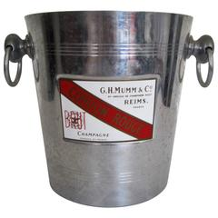 French Champagne Cooler Ice Bucket, France