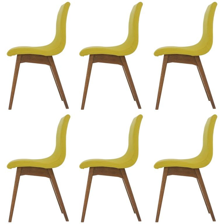 Set of Six Chairs C59 by René Jean Caillette, Charron Edition, 1960 1