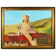 Tuscan Village Painting by R.Corsini