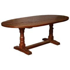 "Robert ""Mouseman"" Thompson Oval Table"