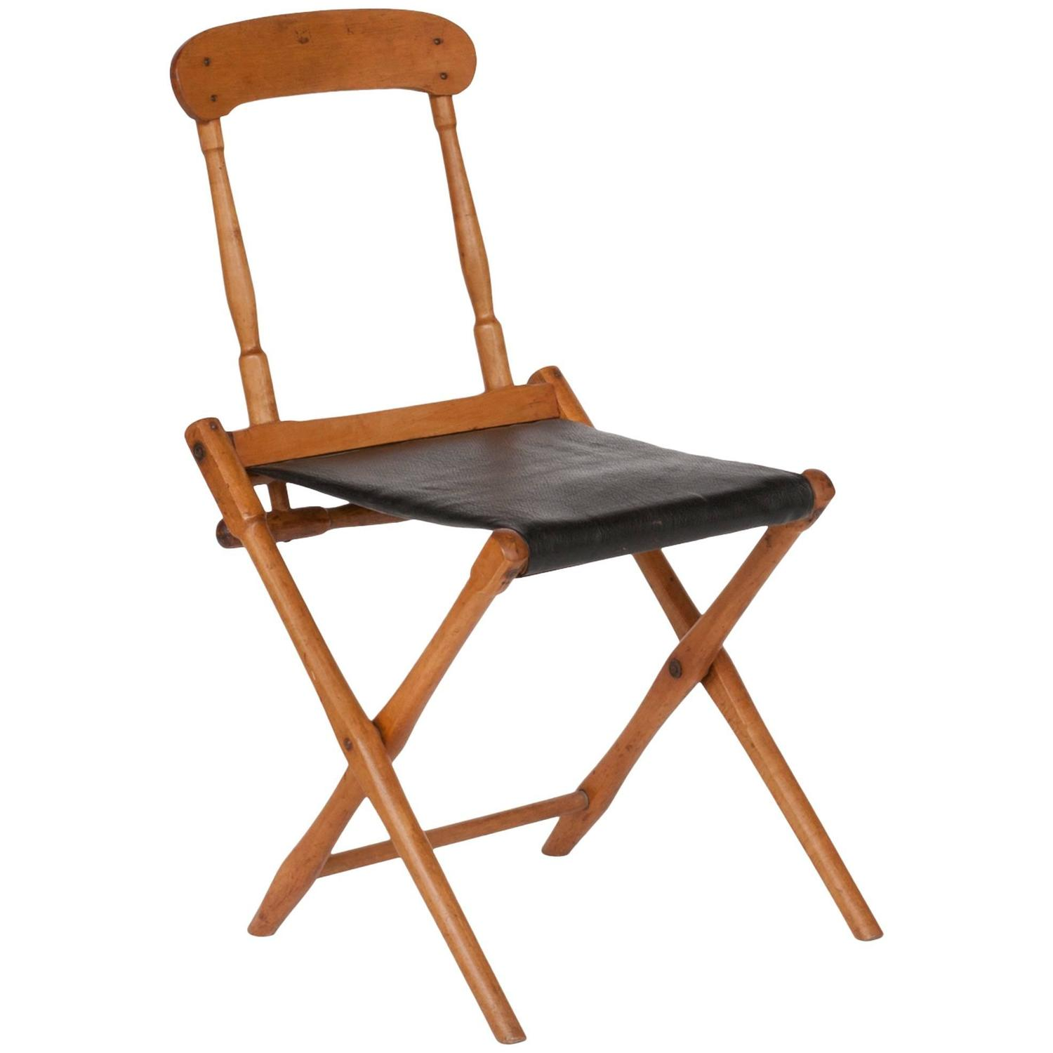 Folding Chair For Sale at 1stdibs