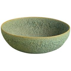 Bowl with Volcanic Glaze by Gertrude and Otto Natzler, c1950, US