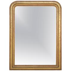 19th Century French Gold Gilt Louis Philippe Mirror