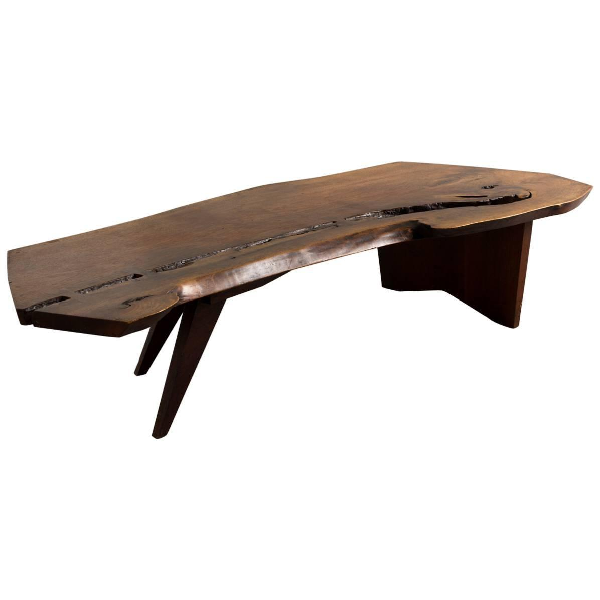 George Nakashima Coffee Table 1960s For Sale at 1stdibs
