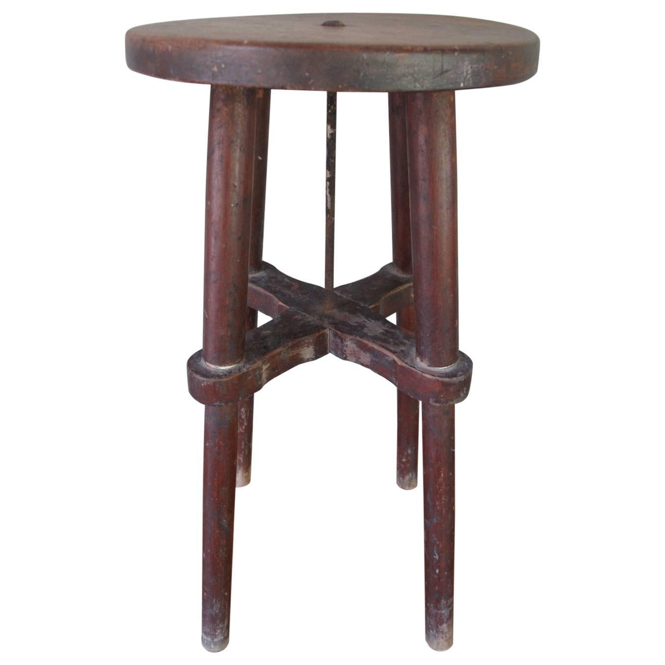 Early 20th Century Stool At 1stdibs