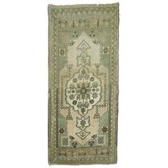 Vintage Turkish Oushak Mat