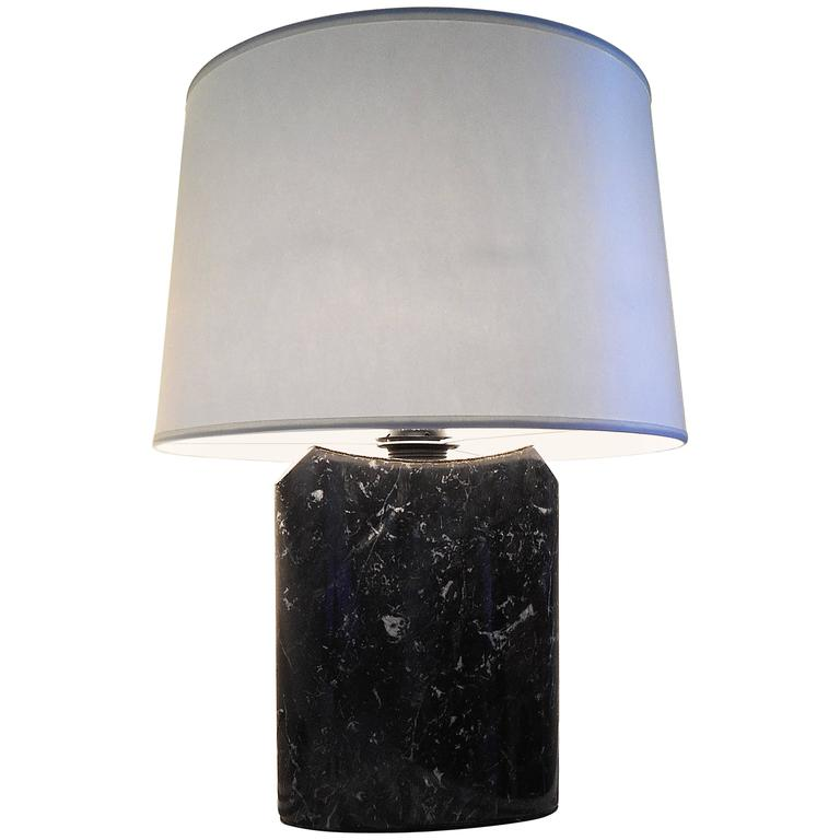 Carrara Marble Italian Desk Lamp