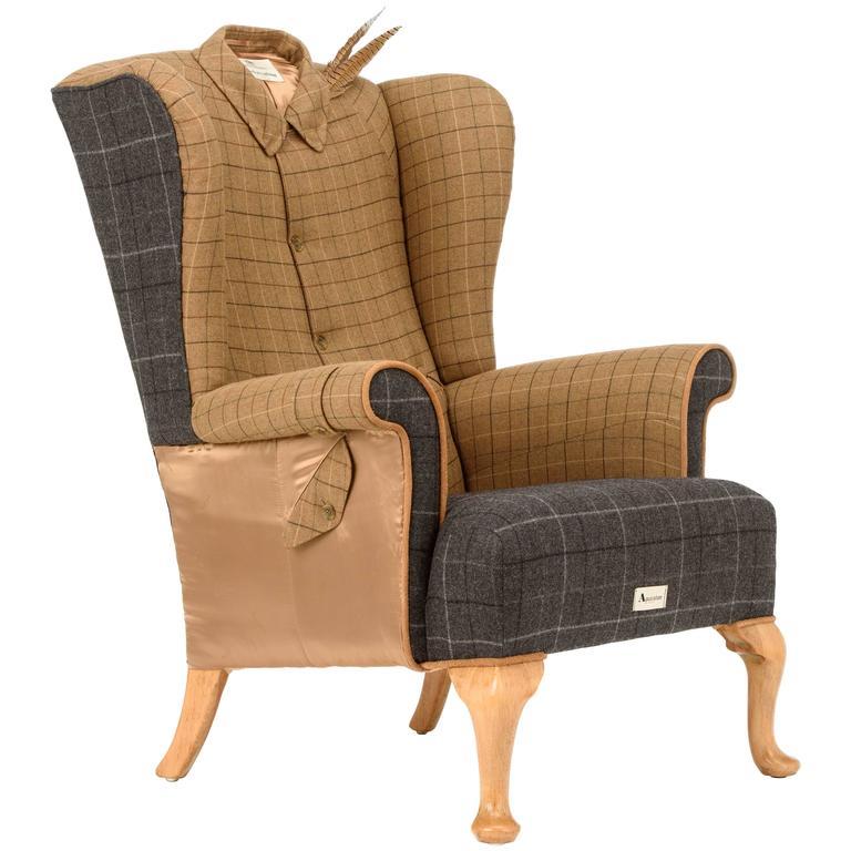 The Aquascutum Game Bird Wing Chair At 1stdibs