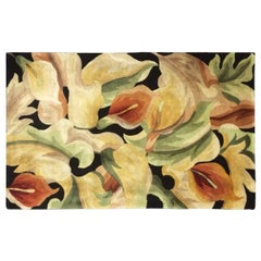 Highly Decorative Wool Floral Rug