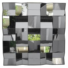 Faceted Mirror in the Style of Neal Small