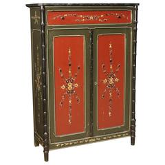 20th Century Dutch Hand-Painted Cabinet