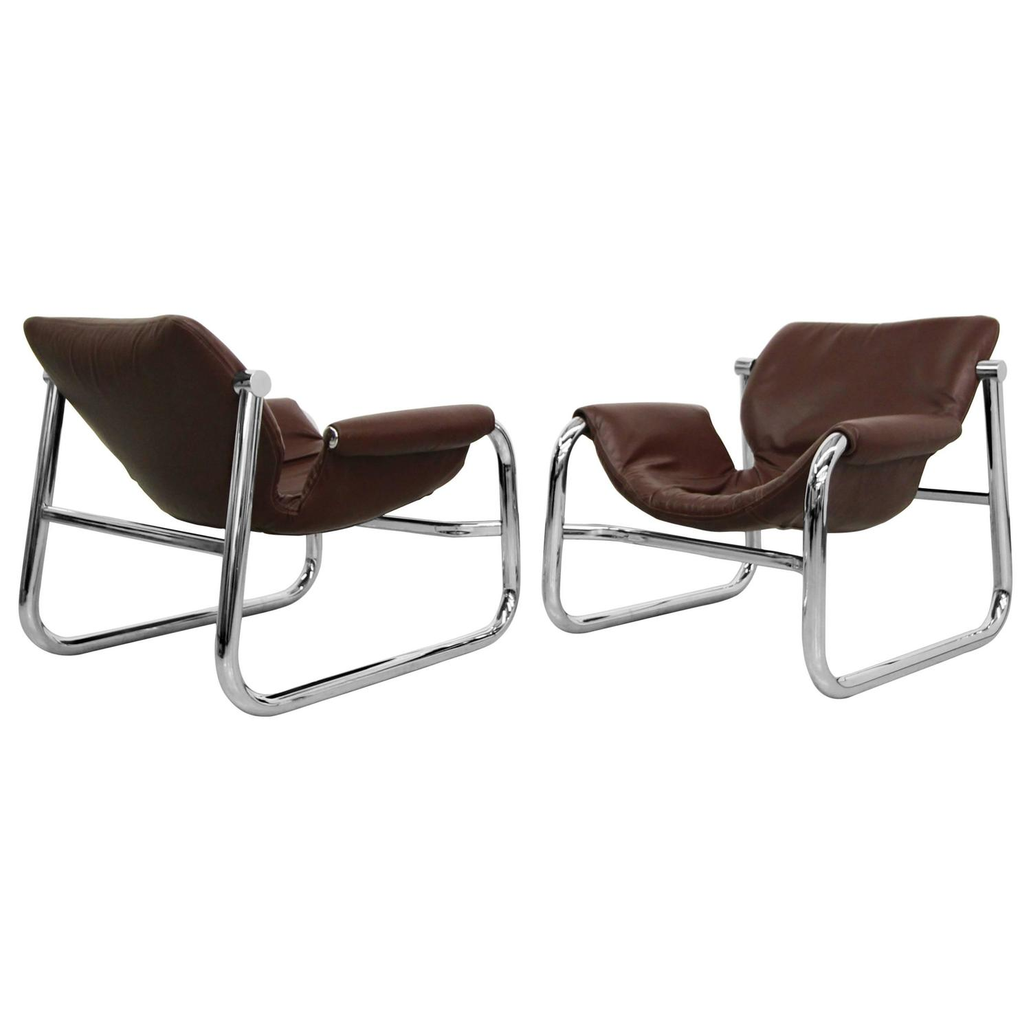 "Alpha"" Lounge Chairs by Maurice Burke for Pozza at 1stdibs"