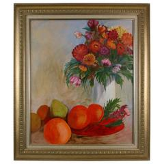 """Orange Lush"" Painting"