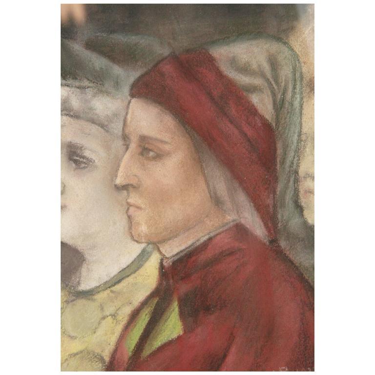 19th Century Renaissance Portrait Painting
