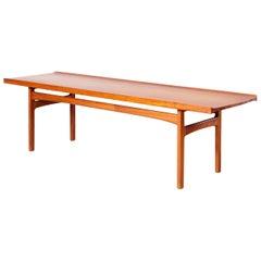 Tove & Edvard Kindt Larsen Coffee Table Teak, Illums Bolighus, Danish, 1960s,