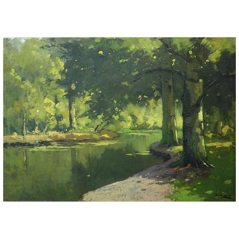 'The Shades of Summer' Oil Painting by Christiaan Soer