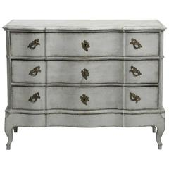 Scandinavian Baroque Period Chest of Drawers