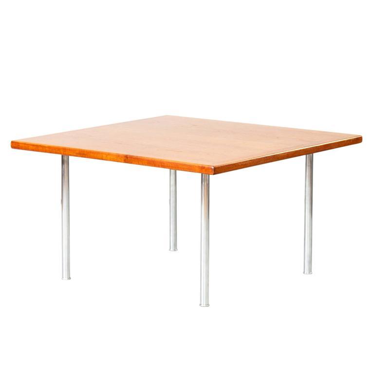 Hans J. Wegner Teak Side / Coffee Table Andreas Tuck Tube