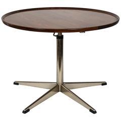 Mid-Century Scandinavian Adjustable Table