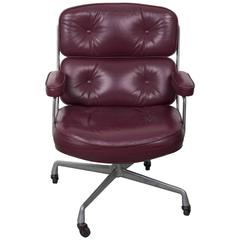 Eames Time Life Leather Office Chair