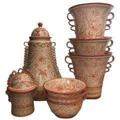 Spanish Ceramic Talavera Mexican Pottery
