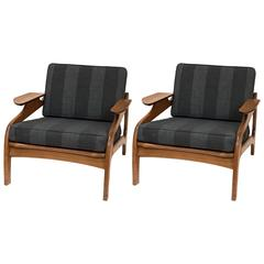 Pair of Mid-Century Modern Lounge Chairs by Adrian Pearsall