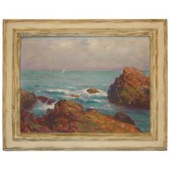 Oil on Canvas Signed Juliet Burdoin
